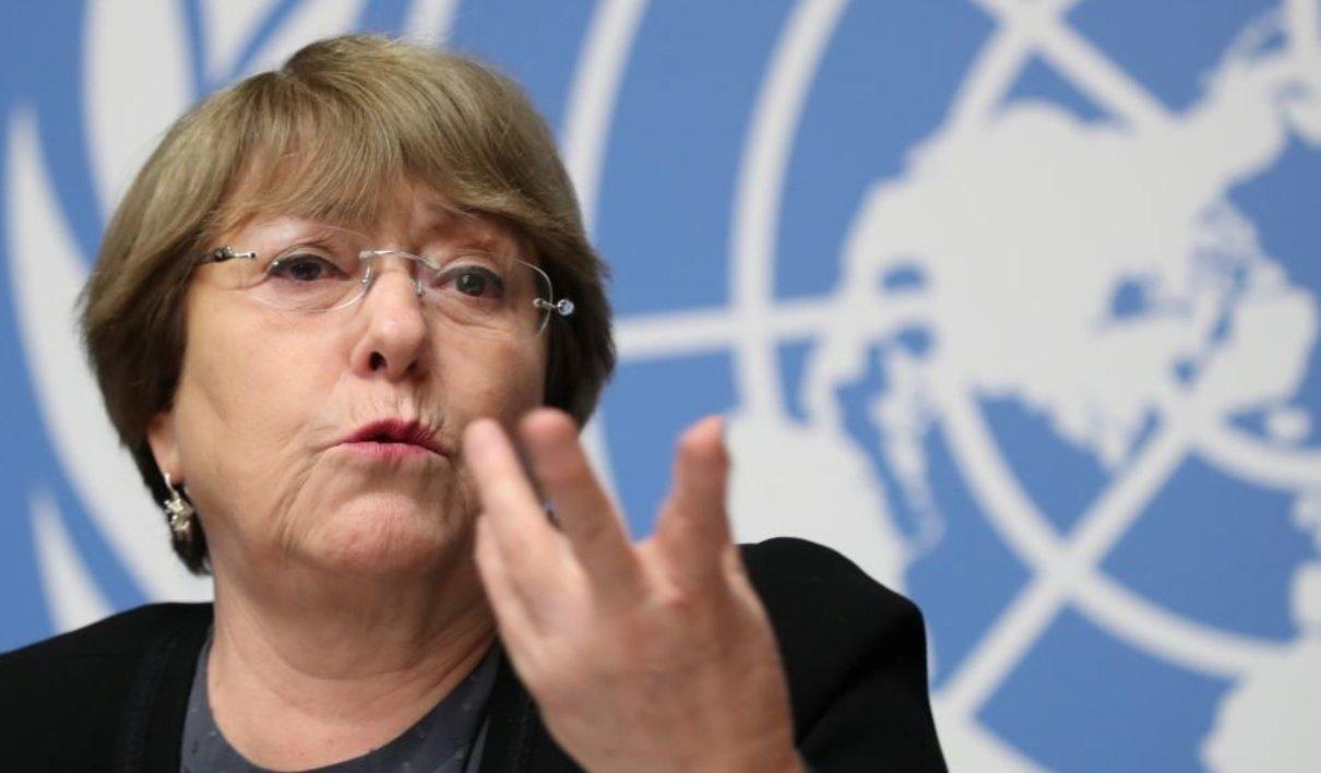 """Michelle Bachelet advirtió que la situación en Bolivia puede """"salirse de  control"""""""